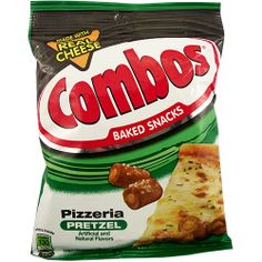 Bring the flavour of an Italian Pizzeria to your taste buds in a handy baked snack with Combos Pizzeria Pretzels! Delicious salted pretzel surrounds real cheese and tomato centres - a great combo of soft and crunchy in one bite-sized snack. Add a bag to your basket today!