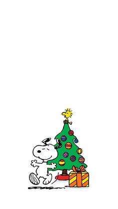 크리스마스 아이폰 스누피 캐릭터 배경화면_02 : 네이버 블로그