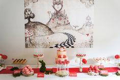 Queen of Hearts Dessert Table