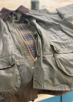 Rewaxing Jacket with Jay Blades Barbour Wax, Barbour Jacket, Country Walk, Life Guide, Way Of Life, Jay, Blade, Military Jacket, Leather Jacket