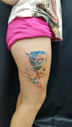 Nefertiti tattoo, eagyp tattoo, ali yüksel, ali baba tattoo, bodrum tattoo, water color tattoo, tattoo, bodyart, color tattoo