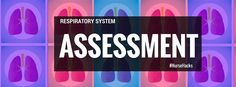 Pulmomary Assessment Nursing Assessment, Fundamentals Of Nursing, Class Notes, Nursing Tips, Respiratory System, Nclex, Body Systems, Nurse Stuff, Studying