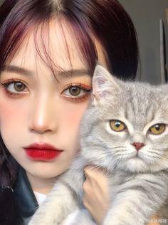 Chinese Makeup, Asian Eye Makeup, Korean Makeup, Pony Makeup, Uzzlang Girl, Hair Reference, Aesthetic Makeup, Fantasy Makeup, Makeup Goals