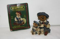 """Boyd's lot of 2 'Catherine & Caitlin Berriweather fine cup of tea-My dear daughter...and me figurine measures approx: 3.5"""" x 3 1/4"""" x 3"""" #02000-21 from 2000 special edition, pin FOB 2000 NOP 2 1/4"""" $12.50"""