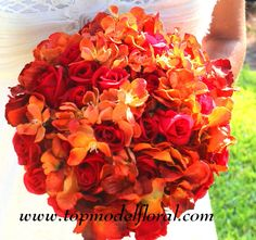 fall rose wedding bouquets | Fall Wedding Arch & Decorating Ideas | Unique Floral Arrangements By ...