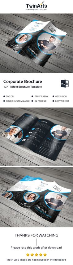 Corporate Tri-fold Brochure . on Behance