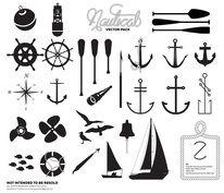 Premium Nautical Vector Pack - Registrationblack.com — Designspiration