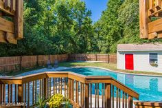 Inground heated #pool #RealEstate #Maryland Contact me today for a private showing!  www.michelle.jimbassgroup.com 301-606-3703