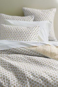 Danbury Dot Quilt or Sham from Lands' End