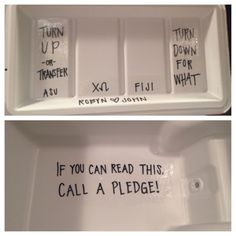 """""""If you can read this call a pledge"""""""
