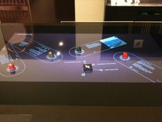 Tangible Interface for Nespresso by Marion Wagner, via Behance