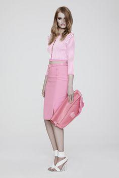 Pretty in pink! Versace Resort 2014
