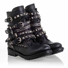 Ash Rebel Womens Boot Black Leather 340438 (001) I could not possibly want these boots anymore than I already do.