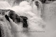 White water driven into a frenzy as it crashes over the weir at Traunfall, Austria in B&W Whale, Landscapes, Photography, Animals, Paisajes, Animales, Whales, Animaux, Photograph