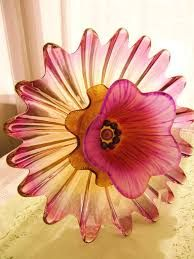 Image result for using old plates in the garden