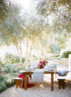 Prettiest al fresco wedding table decor: Photography: Joel Serrato - http://joelserrato.com/