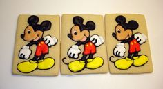 Mouse  Decorated Sugar Cookies 12 One Dozen by WackyCookies, $42.00
