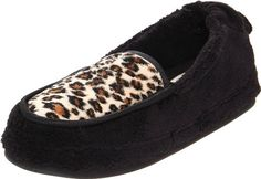 Daniel Green Women's Alexa Slipper,Black/Cheetah,7 W US -- Learn more by visiting the image link.