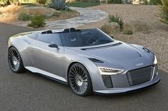 2014 Audi E-Tron Spyder by 1GrandPooBah, via Flickr