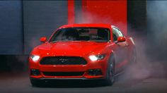 The 2015 Mustang unveiled in Barcelona! ...Smoking hot?! #2015Mustang #Mustang