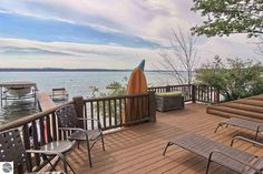 Director Michael Moore Is Selling Spectacular Lake House in Michigan for $5.2M #Michigan #RealEstate
