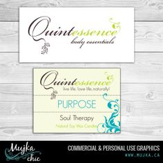 Quintessence Spa Beauty logo Design and branding. Want a logo design for your company? Contact me! www.mujka.ca