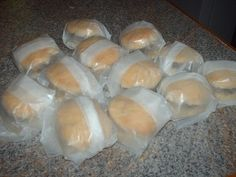 Quick & Easy Sausage Biscuits  Super Easy to make and freeze for breakfast each morning.