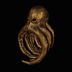Skive Jewelry   Anel Polvo SK   Octopus   Ring   Anéis    Joias   jewelry