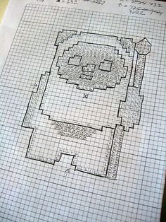 Ewok cross stitch by The Official Star Wars, via Flickr