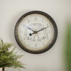 Redeemed - Beautiful in Its Time - Wall Clock