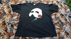 Vintage Phantom of the opera 1986 shirt Size XL Glow in the dark