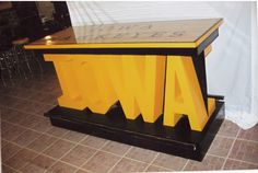 iowa bar table