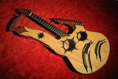 Keith Medley Harp Guitar
