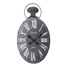 Paris Traditional Wall Clock (Pack of 2)
