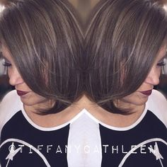 Lisa was sick of root touch-ups to cover her gray so we blended it instead with these silver #highlights! Love love love how they turned out!!! #hairbytiffanycathleen []#houseofboxes