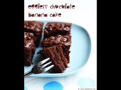 Eggless chocolate banana cake | With wheat flour - Raks Kitchen