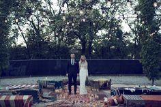 Real Wedding: Brice + Leah / Bona Fide Bohemian featured on The LANE...
