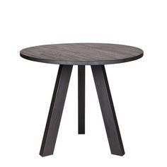 WOOOD tafel Rhonda 129x77 cm Blacknight, alles voor je klus om je huis & tuin te verfraaien vind je bij KARWEI