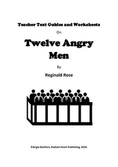 12 Angry Men: A lesson plan for students in grades 9-12