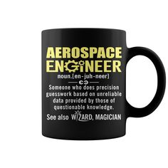 Aerospace Engineer Definition Hot Mug  coffee mug, cool mugs, funny coffee mugs, mug gift #mugs #ideas #gift #mugcoffee #coolmug