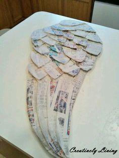Alas de cartón