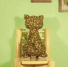 Stuffed Cat PDF Sewing Patterns & Tutorials / by XanthePatterns