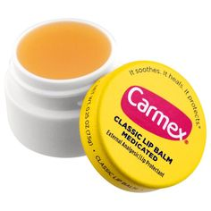 Carmex, Classic Lip Balm, Medicated, 0.25 oz (7.5 g)