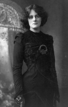 Maud Gonne   ''with beauty like a tightened bow ... '' ~ W. B. Yeats