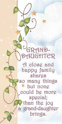 granddaughters are special   Granddaughters are special and I'm so glad your mine. Love and Kisses ...