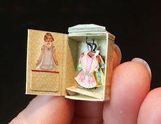 pourrait etre utile pour le livre de poupées a Molly :) Andrea Thieck Miniatures