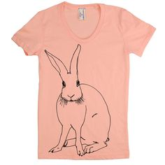 Funny Bunny Tee / designed by Maggie Kleinpeter