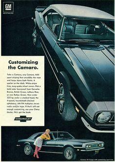 1968 Chevrolet Camaro Hardtop