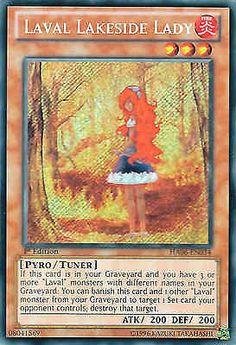 Original KONAMI Yu-Gi-Oh! Trading Card Laval Lakeside Lady (Laval-Seeufer-Dame) Kartennummer: HA06-DE034 Deck: Hidden Arsenal 6 Häufigkeit: Secret Rare Kartentyp: Effekt-Monsterkarte Typ: Pyro / Empfänger ATK/DEF: 200/200 GBA: 08041569 | Günstig bei eBay kaufen!