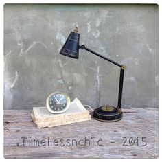 Table Lamp  Desk Lamp  Gooseneck Lamp  Gooseneck by TimelessNchic